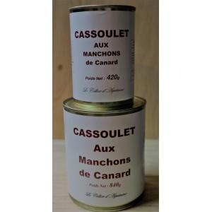 Cassoulet aux Manchons de Canard