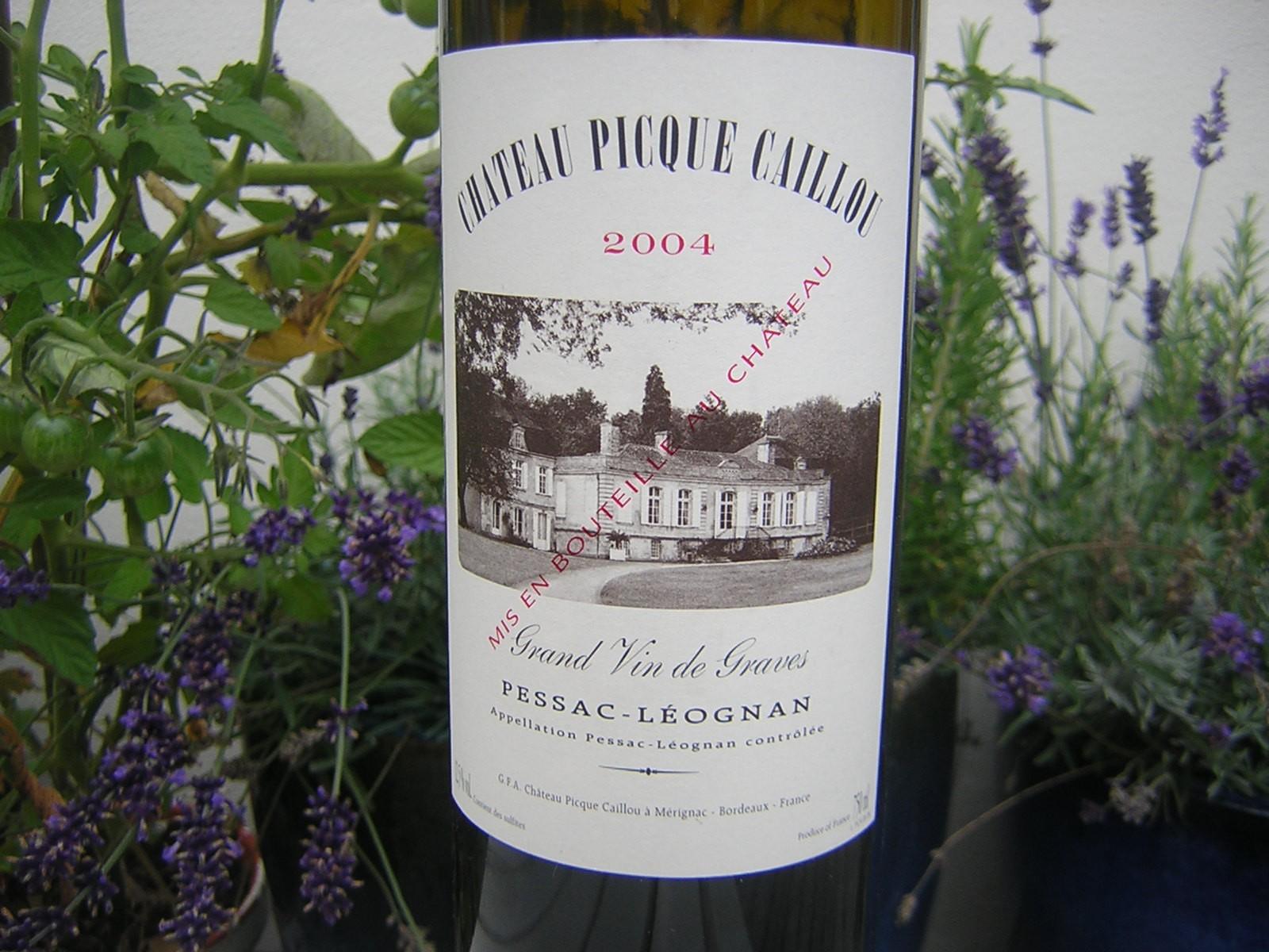 Château Picque Caillou 2004